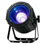 American DJ ADJ UV COB Cannon Ultraviolet Blacklight 100W LED Wash Light + DMX